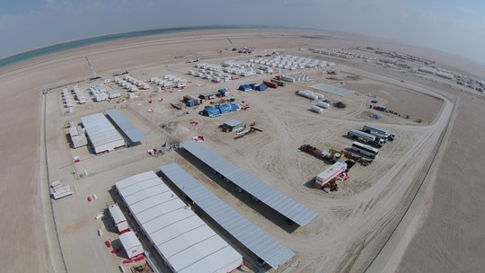 Construction and oilfield camps
