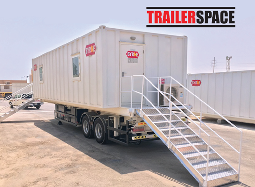 Trailer Mounted Building