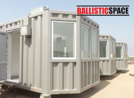 Forced Entry Ballistic Resistant Modular Buildings