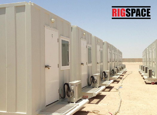 RigSpace Skid Mounted Modular Building