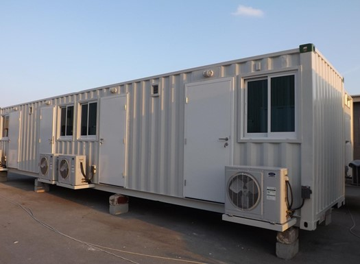 Containerised housing / mobile barracks