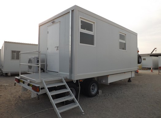 Trailer mounted unit