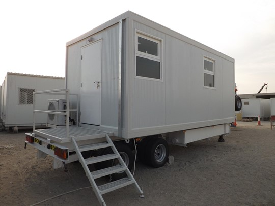 Portable office (trailer mounted unit)