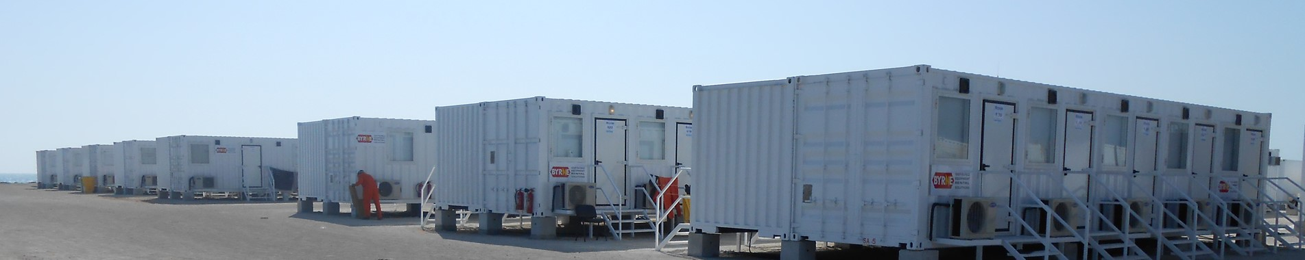 Turnkey oil & gas offshore camp