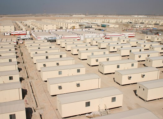 oil and gas camps